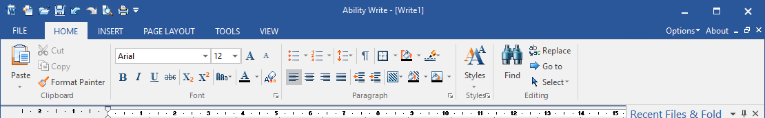 Ability Office gratuit  Write